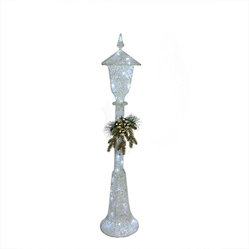 "Northlight 48"" LED Lighted Indoor/Outdoor Lamp Post Christmas Decoration - Cool White Lights from Northlight"
