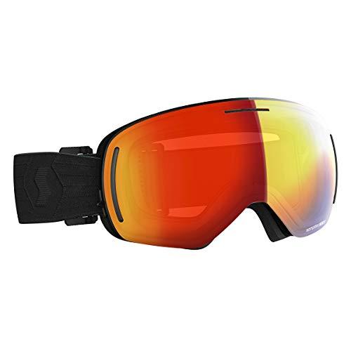 Scott LCG Evo Goggle (Black, Enhancer Red Chrome) - Adults