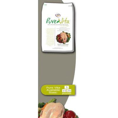 Pure Vita Dry Dog Food - Duck & Oatmeal - 5 Lbs ()