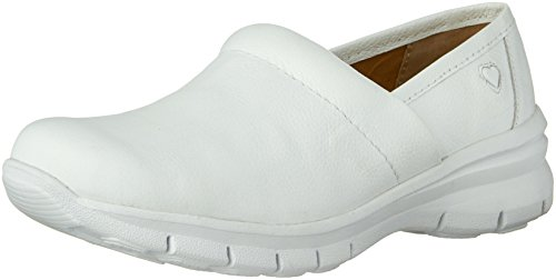 Nurse Mates Women's Libby Slip On White