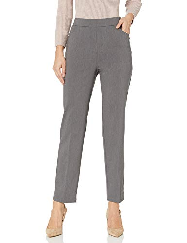 Alfred Dunner Womens Allure Slimming Missy Stretch Pants-Modern Fit
