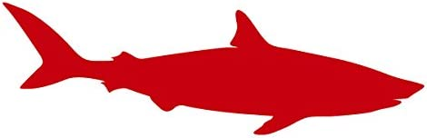 Go Fishing Fish Shark Red Car Sticker Vinyl Tape Sticker Decals 3m Vinyl Tape Sticker Vinylvinyl Car Decal Aliexpress