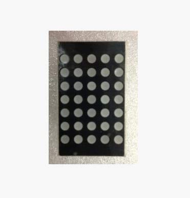 BAGUIO STORE 10PCS/LOT LED digital dot matrix module, F3.0 57 with side red, common anode, lattice digital pipe