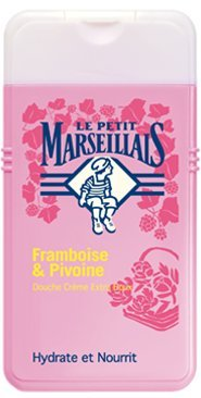 Le Petit Marseillais Peony and Raspberry Extra Gentle Shower Cream (Wash Body French)