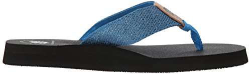 Sandal Box Blue Women's Dax Yellow YStRPpqxP