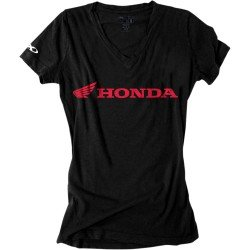 Factory Effex Women's Honda T-Shirt (Red, Small) (Honda Motorcycle Shirts)