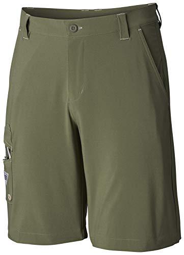 - Columbia Men's PFG Terminal Tackle Short, Sun Protection, Quick Drying