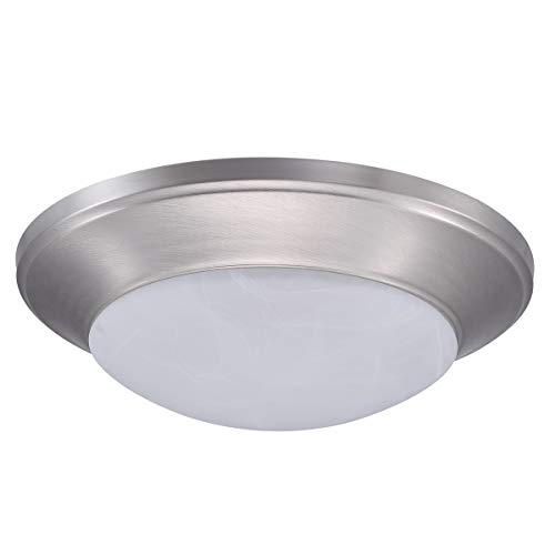 [Myth Realm] LED Indoor Integrated Flush Mount Ceiling Light Wall Fixture, 11inch, Dimmable, 15W, 3000K, Waterproof…