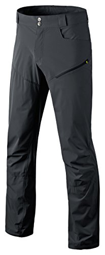 Mens Traverse Shell Pants - Dynafit Men's Traverse Dura Stretch Pants, Asphalt, Medium