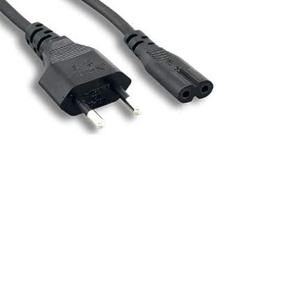 Amazon.com: Kentek - Cable de alimentación de CA IEC320 C7 a ...