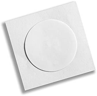 Waizmann.IDeaS/® 1x RFID NFC NTAG216 Tag 13,56 MHz 888 bytes Rund 25mm /Ø Sticker Selbstklebend