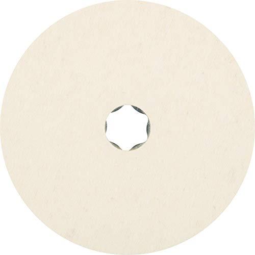 5 x PFERD COMBICLICK Filzronde CC-FR 125| Art.: 42003025
