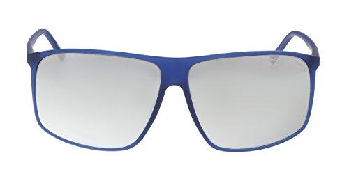 Porsche Design Men's P'8594 P8594 D Blue Fashion Sunglasses - Sunglasses Porsche Men