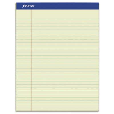 TOP20375 - Ampad Top-Bound Green Tint Ruled Writing Pads