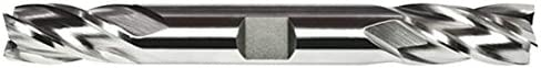 Alfa Tools DE151410 13//32X1//2 HS Multi-Flute Double End Mill