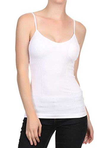 15ffc4748189b Nophat Womens Slimming Control Padded Cami With Adjustable Straps ...