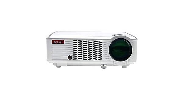 HTP LED-33 + 02 WiFi LCD De Cine En Casa Proyector LED Proyector ...