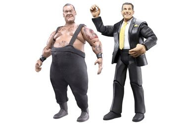 WWE Wrestling Adrenaline Series 31 Action Figure 2-Pack Big Daddy V and Matt Striker (Series 2 Wwe Toy)