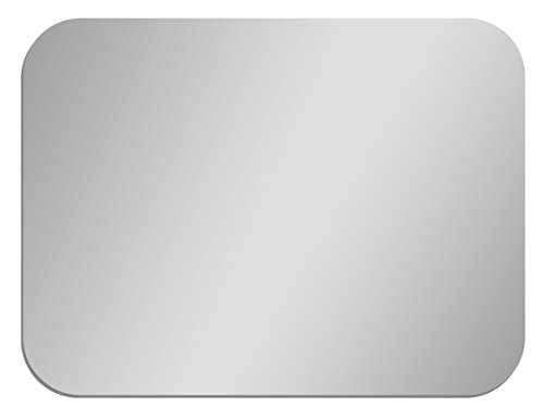 GLOSSY GALLERY Rectangle Shatterproof Acrylic Safety Mirror With Rounded Corners – 12in x 16in