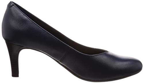 Femme Leather Dancer Escarpins Navy 26137182 Pour Clarks fq0ES0