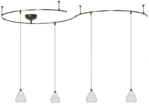 Monorail lighting pendants Pendant Head Wac Lighting Lmk590wtbn 4light Monorail Lighting Kit Home Design Ideas Wac Lighting Lmk590wtbn 4light Monorail Lighting Kit Track