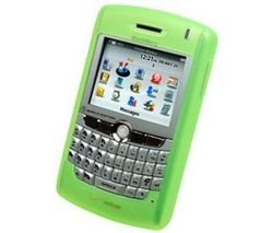 Genuine Blackberry Phone Skin (GENUINE BLACKBERRY SILICONE SKIN CASE FOR BLACKBERRY 8300 / 8310/8320 NEW-GREEN)