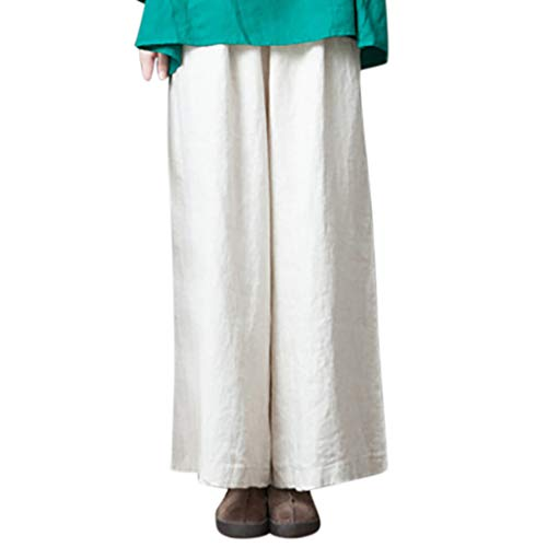 YKARITIANNA Plus Size Women Pure Color Wide Leg Pants for sale  Delivered anywhere in USA