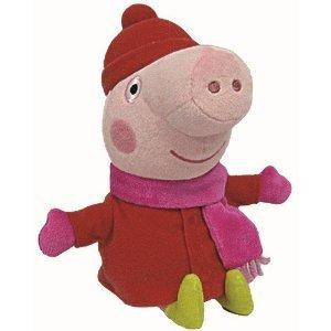 "Peppa Pig Ty 6"" Plush - Peppa Pig Winter"