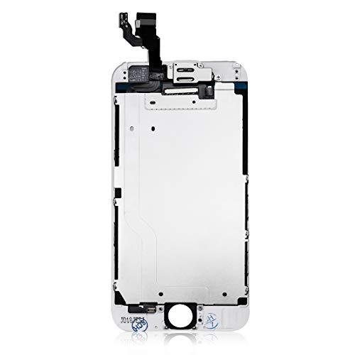 4419275419 SZM iPhone6 液晶パネル フロントパネルセット カスタムパーツ LED スクリーン(スピーカー , フロントカメラ