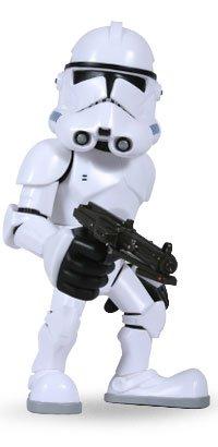 (Sideshow Medicom Star Wars CLONE TROOPER VCD Deformed Vinyl Figure )