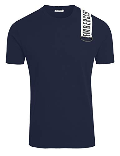 Bikkembergs - Men's t-Shirt Dirk C700180E1899Y91-2XL, Navy