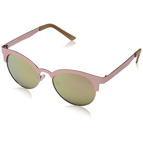 d405ec04cd Eyelevel Alexis, Gafas de Sol para Mujer, Rosa (Rose/Silver Mirror ...