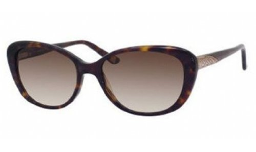 (SAKS FIFTH AVENUE Sunglasses 71/S 86 Dark Havana 53MM)