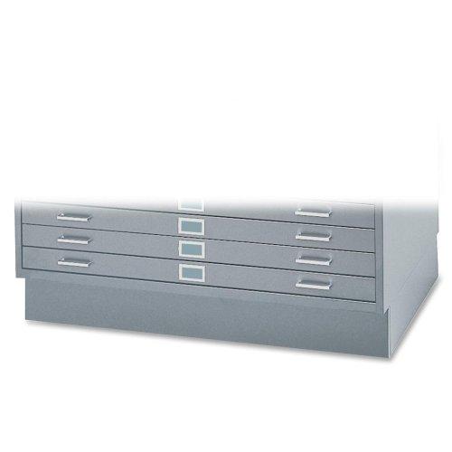 SAF4995GRR - Safco 6 High Base for 5-Drawer Steel Flat Files by Safco