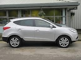 Hyundai ix35 5 Door Hatch 2010 to 2016 35/% Medium Tint PSSC Pre Cut Rear Car Window Films