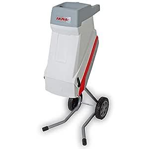 IKRA 81003000 IMH 2500 - Trituradora eléctrica de jardín, color gris y rojo