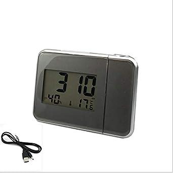Despertador proyector, Reloj Despertador Digital con ...