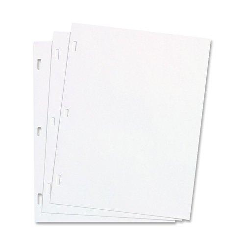 Plain Ledger Paper, f/Minute Book, 11''x8-1/2'', 100/BX, White, Sold as 1 Box - Wilson Jones Plain Ledger Paper, f/Minute Book, 11''x8-1/2'', 100/BX, Wh