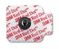 7770398 PT# 2670-5 Electrode Monitoring Red Dot Foam Radiolucent 1.56x1-1/4'' 1000/Ca Made by 3M Medical Products