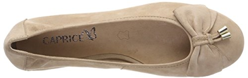 Caprice Women's 22111 Closed Toe Ballet Flats Beige (Beige Pearl 413) outlet excellent outlet release dates buy cheap for sale cheap get to buy low price fee shipping cheap price g1inAO