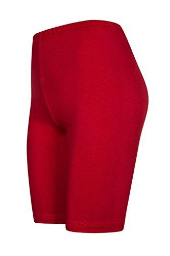 pantaloncini hot Pack 2 ginocchio da pantaloncini pants calzoncini con colori sopra 16 Rosso Bx0Z1