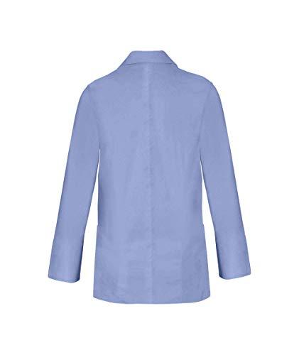 Panda Uniform Custom Consultant Lab Coat For Men's 32-Inch length-Sky Blue-XL by Panda Uniform (Image #4)