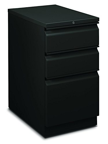 HON Flagship Mobile Pedestal with 2 Box/1 File Drawer and Radius Pull, 15