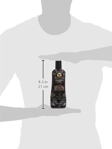 Australian Gold Sinfully Black 15x Deep Dark Bronzing Tanning Lotion, 8.5 Ounce