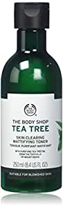 The Body Shop Tea Tree Skin Clearing Mattifying Toner, Made with Tea Tree Oil, 100% Vegan, 8.4 Fl. Oz