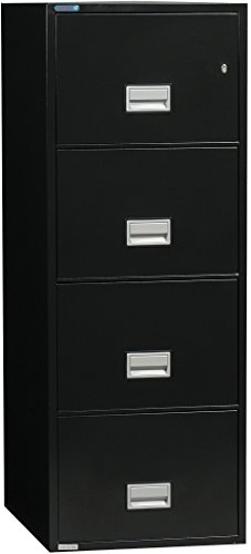 Phoenix Vertical 31 inch 4-Drawer Legal Fireproof File Cabinet - (Insulated Fireproof Filing Cabinet)