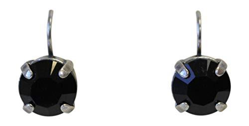 Mariana Peppermint Swarovski Crystal Drop Earrings