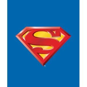 Superman Fleece - Superman Emblem Super Soft Fleece Throw Blanket 50x60 Inches - DC Comics