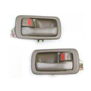 #DH17 #6926022030 92-96 Motorking Toyota Camry Brown Replacement 2 Inside Door Handles 92 93 94 95 (95 96 Toyota Camry Door)