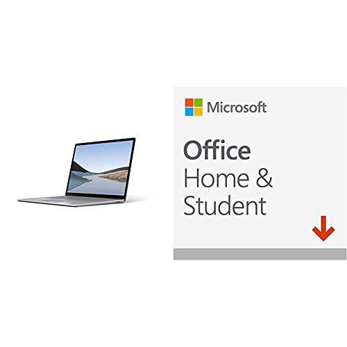 "Microsoft Surface Laptop 3 Ultra-Thin 15"" Touchscreen Laptop (Platinum) – AMD Ryzen 5 3580U, 8GB RAM, 256GB SSD, Windows…"